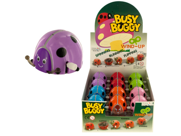 busy buggy wind up toy