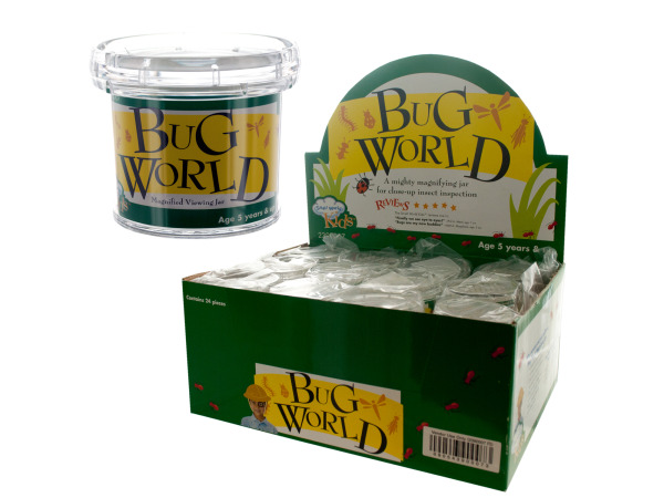 bug world magnifying jar