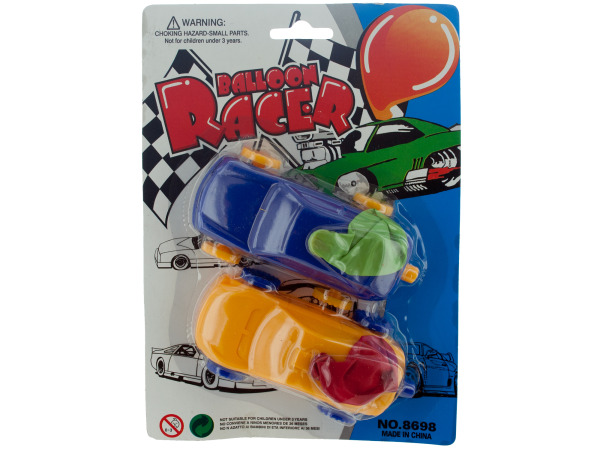 2 pack balloon racers
