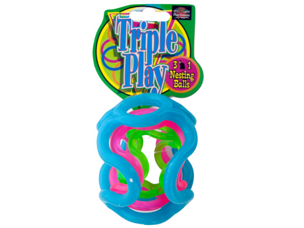 Triple Play 3-in-1 Nesting Balls
