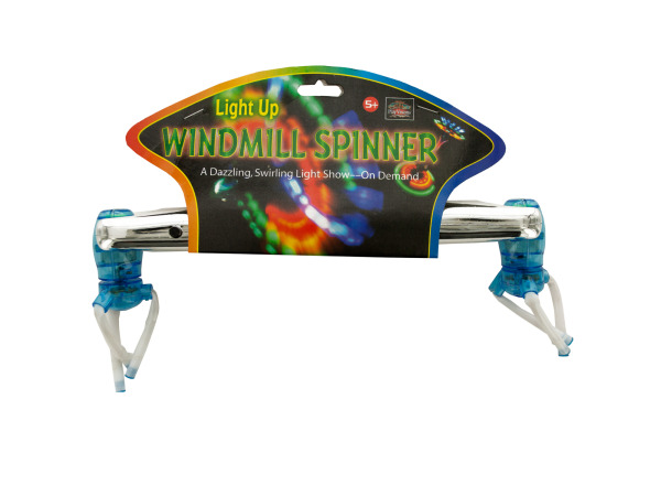 Light Up Windmill Spinner