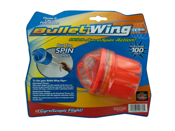 Bullet Wing Flying Toy