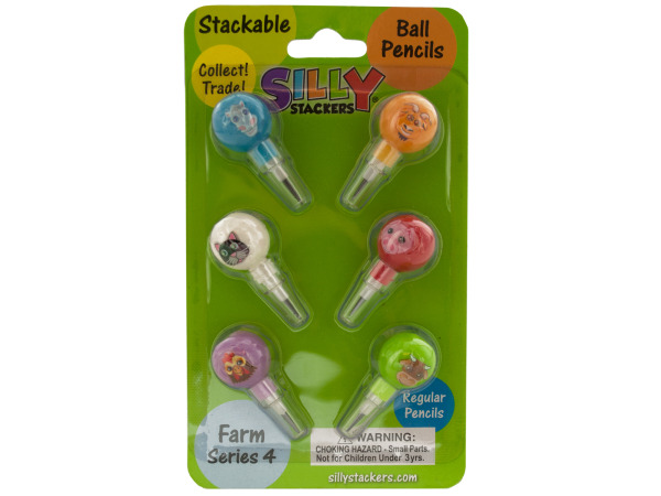 Silly Stackers Stackable Pencils