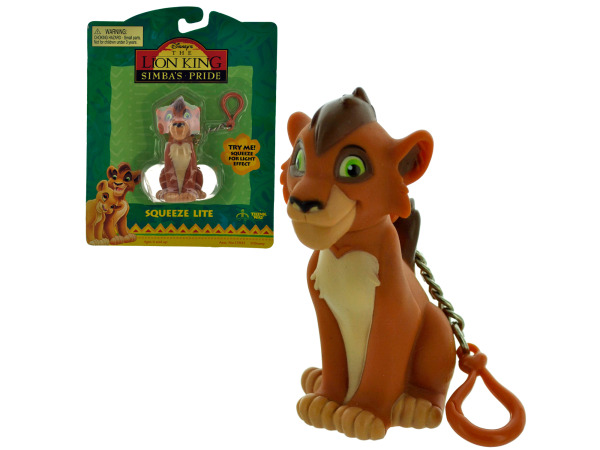 lion king light up keychain