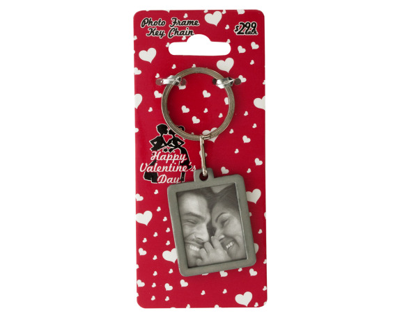 Sweethearts Photo Frame Keychain