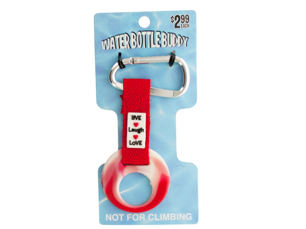 Water Bottle Buddy Carabiner Keychain