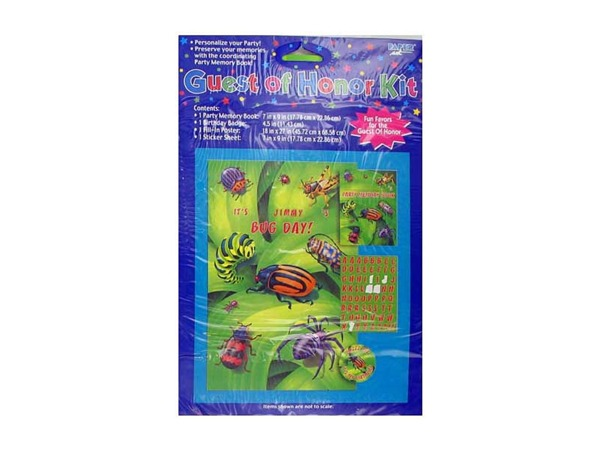 bugs everywhere party kit