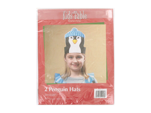 Holiday Fun penguin hats, pack of 2