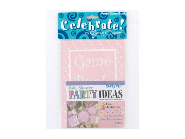 Baby shower party idea book