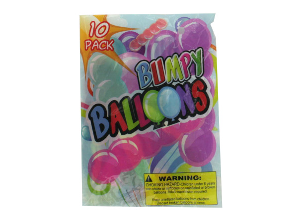 Giant bumpy balloons (10 pack)