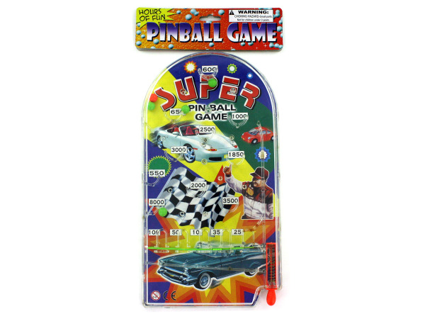Racing-themed pinball game