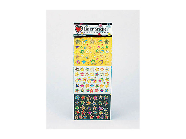 assorted glitter stickers (assorted designs)