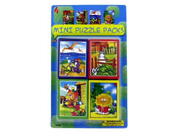 Miniature puzzle pack