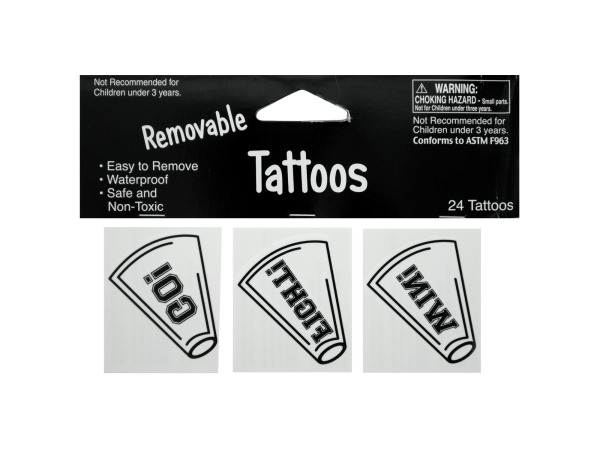 24 pack white tattoos