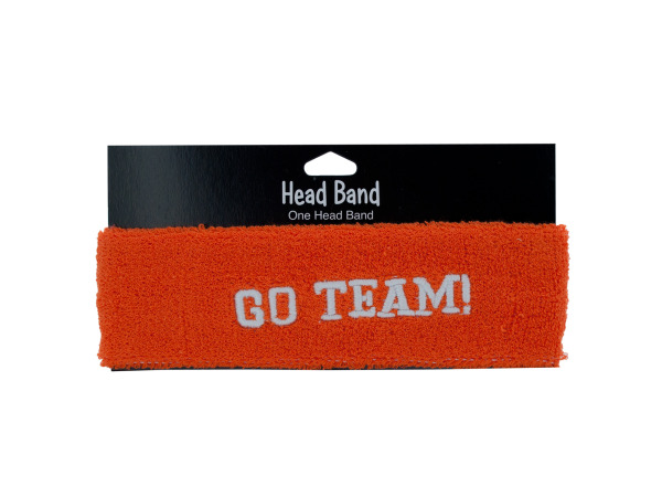 1 piece orange headband