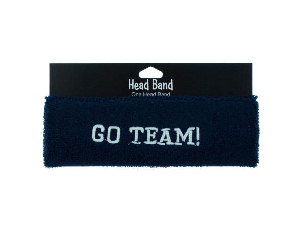 1 piece blue headbands