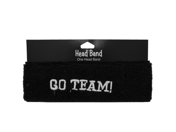 1pc blk headband 039060