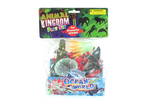 Animal kingdom play set