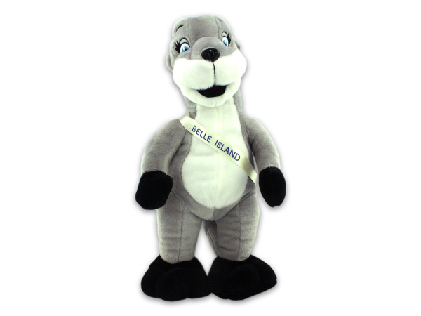 Belle Island otter plush animal