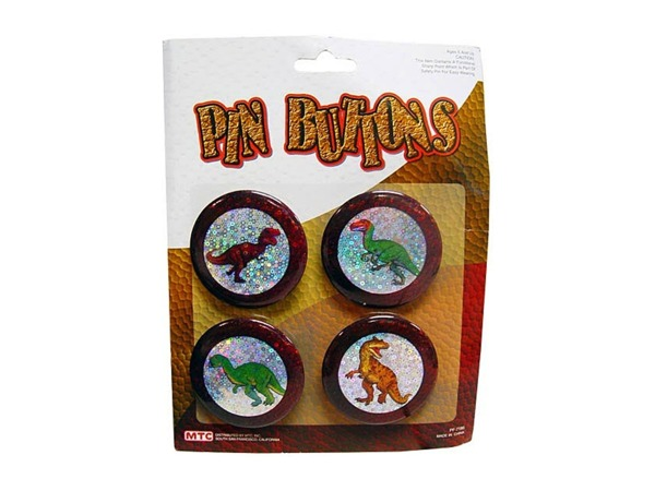 Dinosaur button