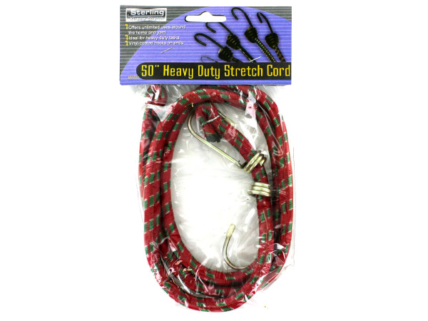 Heavy duty stretch cord