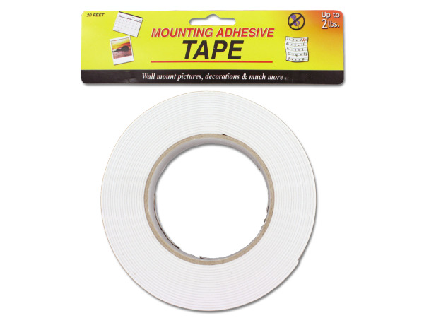 Mounting adhesive tape, 20-foot roll