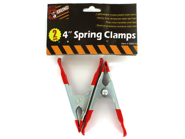 Spring clamps