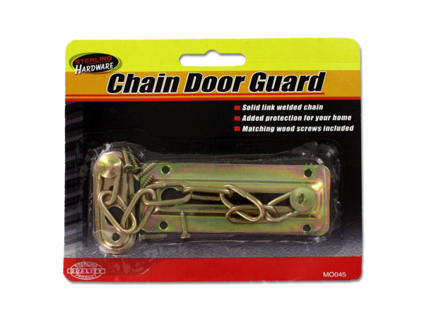 Chain Door Guard with Screw