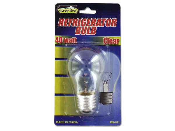 40 Watt Refrigerator Light Bulb