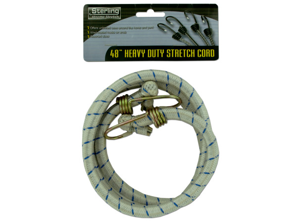"48"" Heavy duty stretch cord"