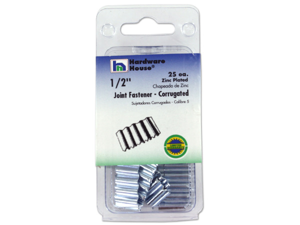 Corrugated joint fastener, pack of 25