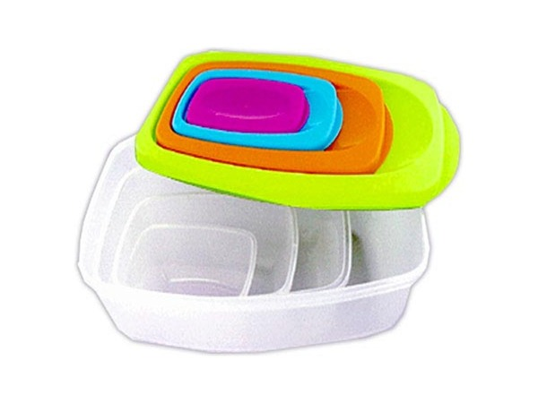 Rectangle container set