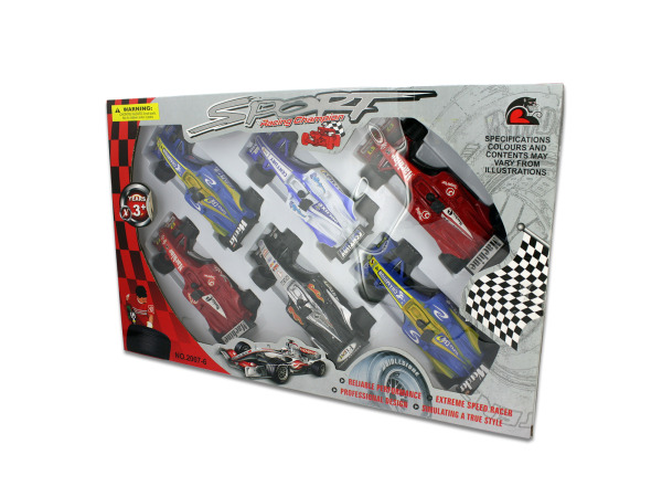 6 Pack super race cars