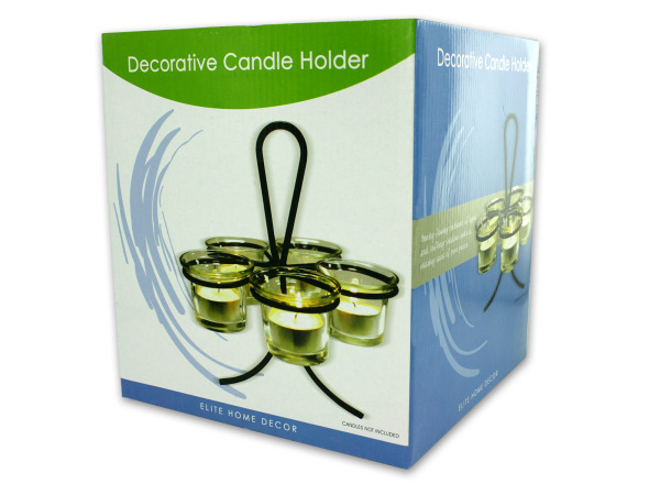 Votive candle stand with holders