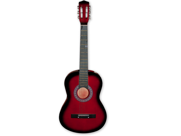 Red tinted guitar