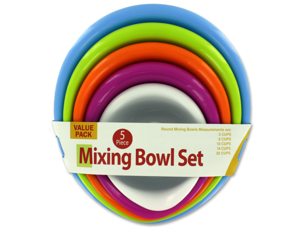 5 Piece Mixing Bowl Set