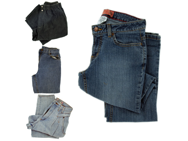 closeout jeans-sell as is