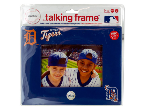 "Detroit Tigers 4"" x 6"" recordable frame"