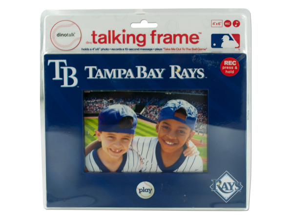 "Tampa Bay Devil Rays 4"" x 6"" recordable frame"