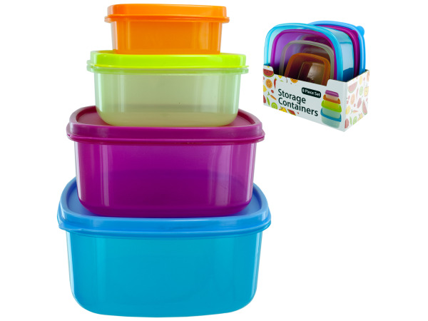Square Storage Container Set