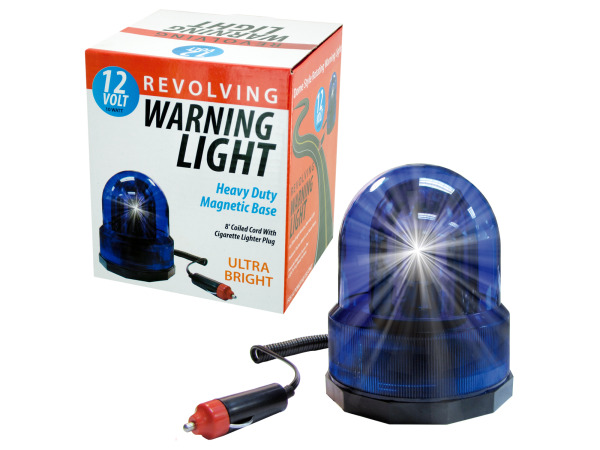 Revolving Auto Warning Light