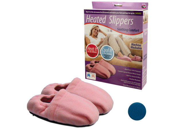 Heating and Cooling Comfort Slippers
