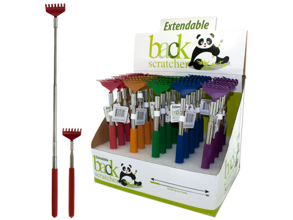 Extendable Back Scratcher Counter Top Display