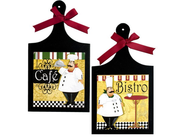 French Chef Wall Plaque