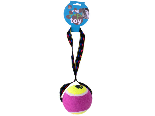 Tennis Ball Rope Toy