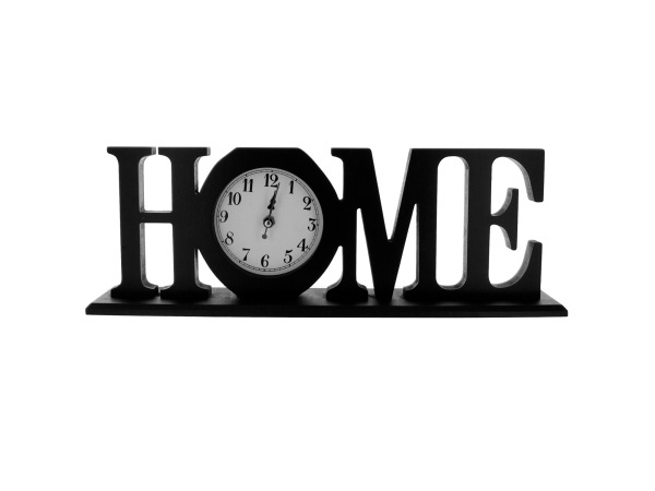 """Home"" Mantle Clock"