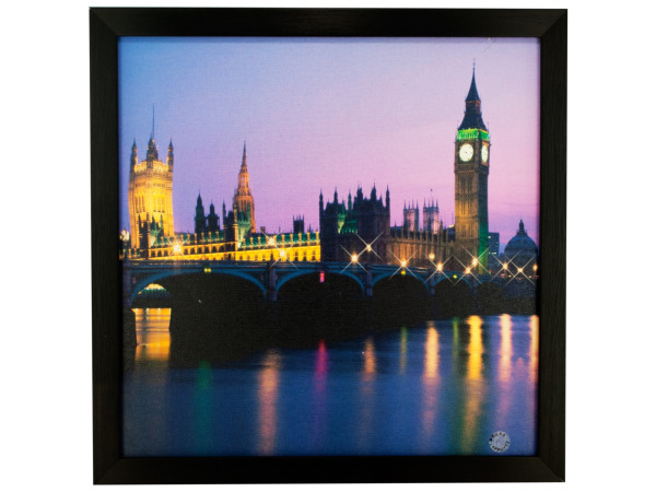 London Nightscape Twinkle Light Artwork