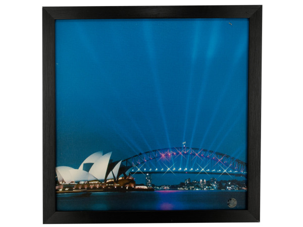 Sydney Nightscape Light Up Art