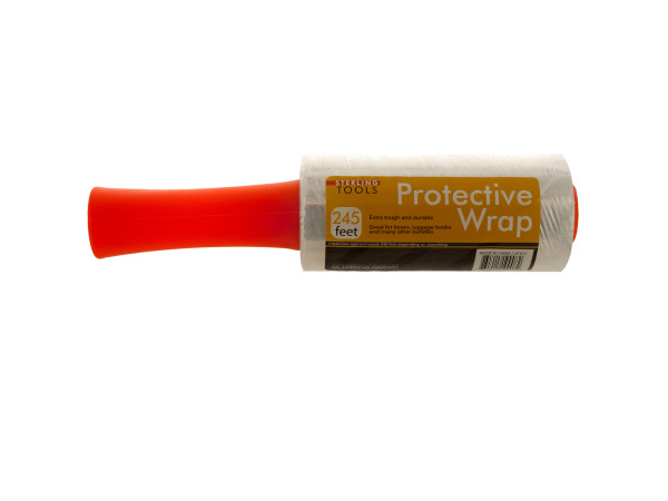Protective Plastic Wrap Roller