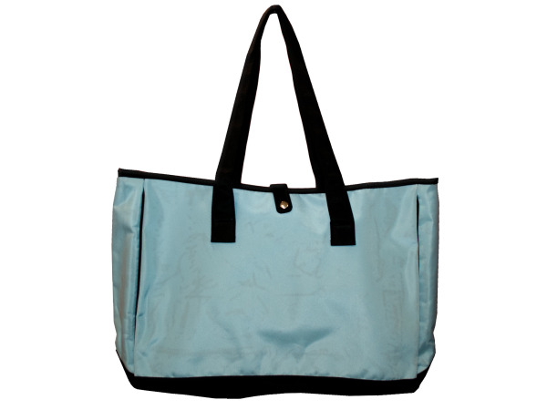 large blue bag
